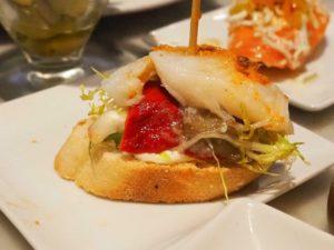 Salat - Paprika - Butterfisch