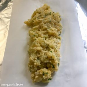 Erdäpfel (Kartoffel) Roulade