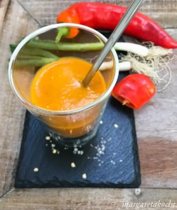 cremige Paprika Suppe