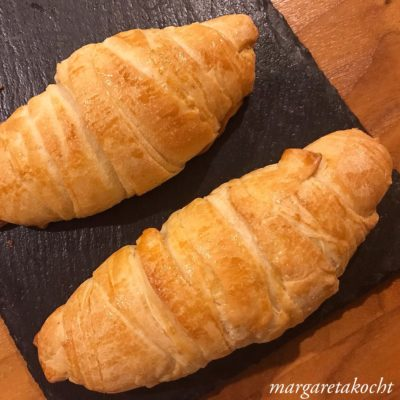 knusprige Sauerteig Croissants à la Margareta (und) Reif fürs Wochenende!