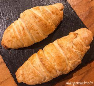 knusprige Sauerteig Croissants