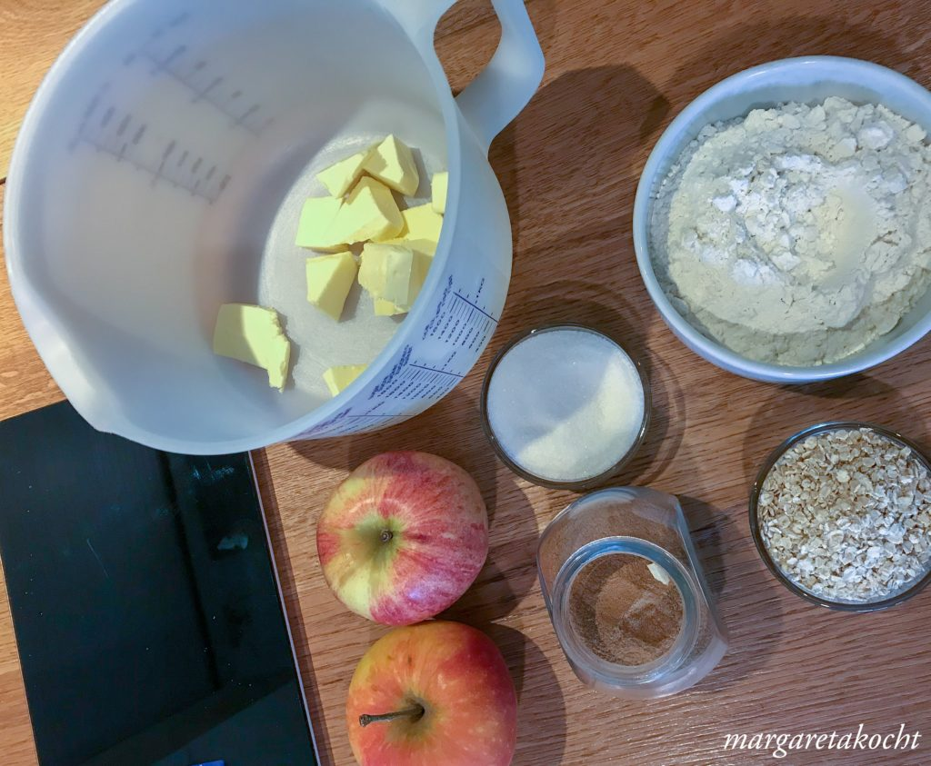 lauwarmer Apple Crumble