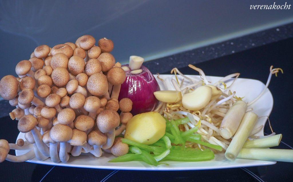 schnelles, asiatisches Pfanenngericht