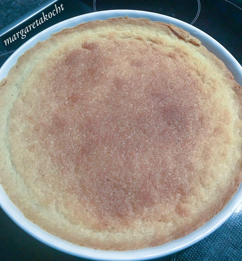 erfrischende Joghurt Zitronen Tarte mit Baiser