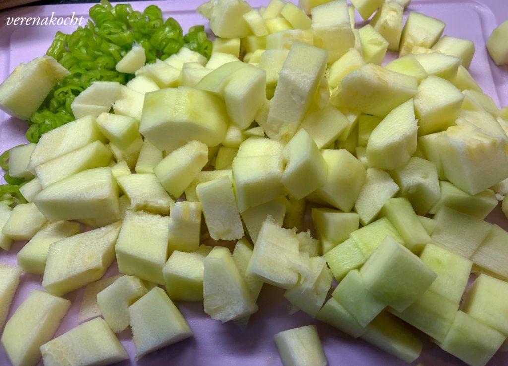 Zucchini Trüffel Pasta