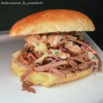 Pulled Pork Burger by Christian aka Barbecuemaster