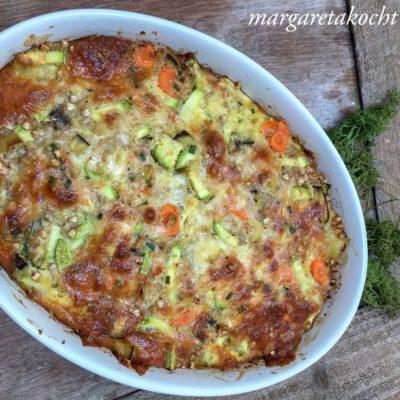 gratinierter Kartoffel-Gemüse-Auflauf (und) Kartoffel Liebe & #erdäpfelliebe