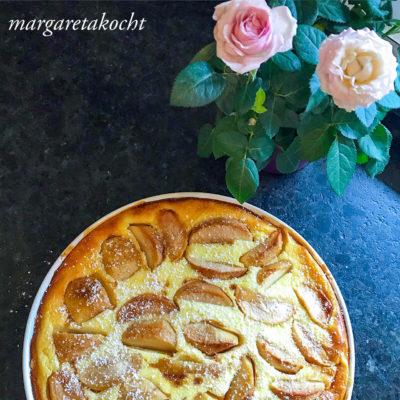 köstlicher Apfel Joghurt Kuchen (und) Feiert mit uns den Tag des Apfels!