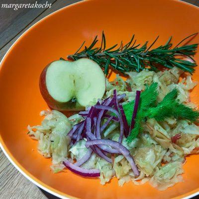 Fenchel Rosmarin Salat (und) Zwieback mit Fenchel & Anis
