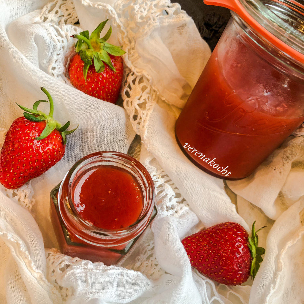 Erdbeere | Rhabarber | Gin