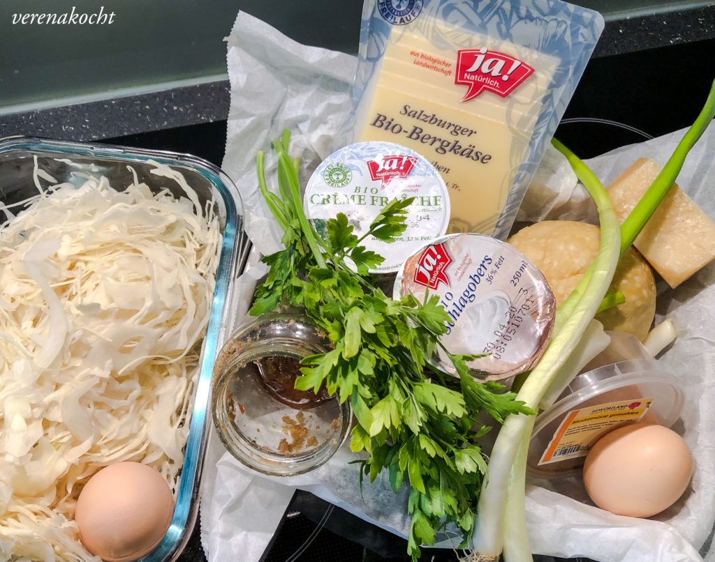 köstliche Weißkraut Käse Quiche (und) #family #re-union