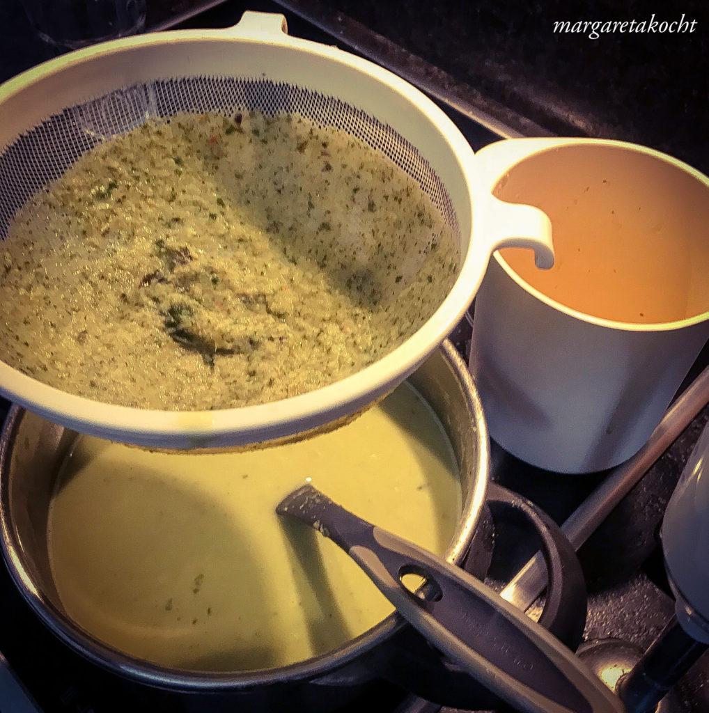 g'schwinde Joghurt Basilikum Suppe