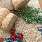 Toastbrot mit Urkorn Mehl
