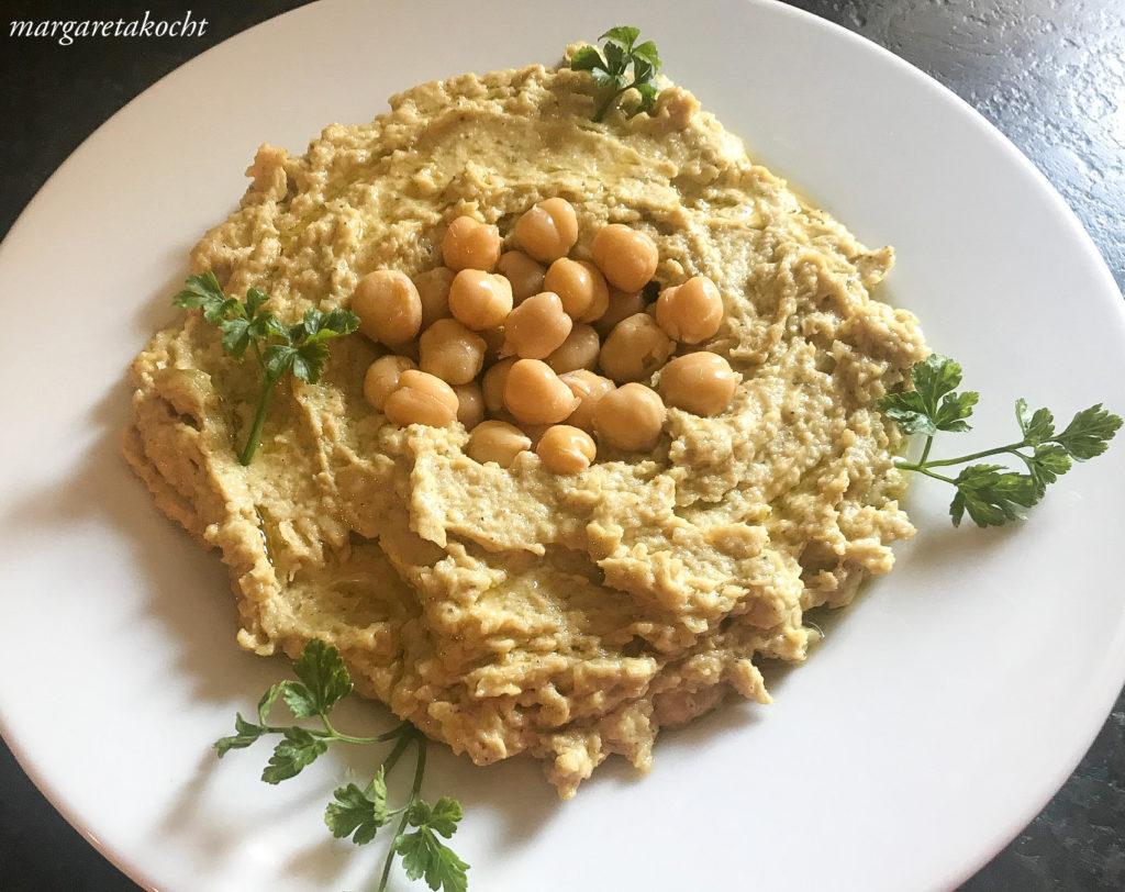 home-made Hummus