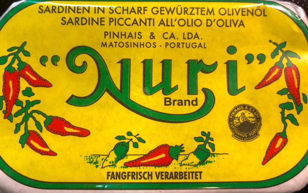 würzig scharfer Nuri Aufstrich
