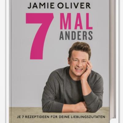 // Buchbesprechung // 7 Mal anders – Jamie Oliver (erschienen im DK Verlag)