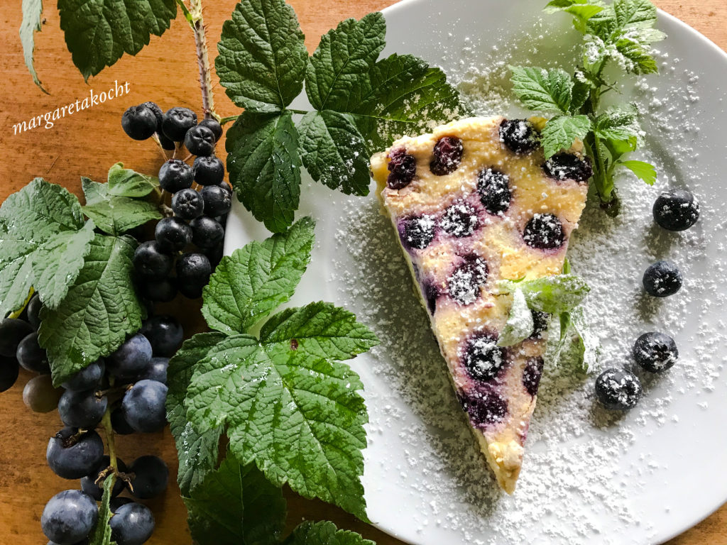 Heidelbeer Cheesecake