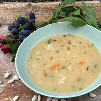 spicy Bohnen Kren Suppe (oder) So läuten wir die Wochenmitte ein!