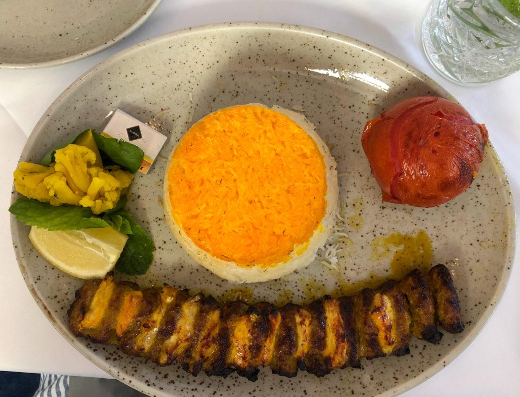 Arezu - moderne, persische Küche (1080 Wien)