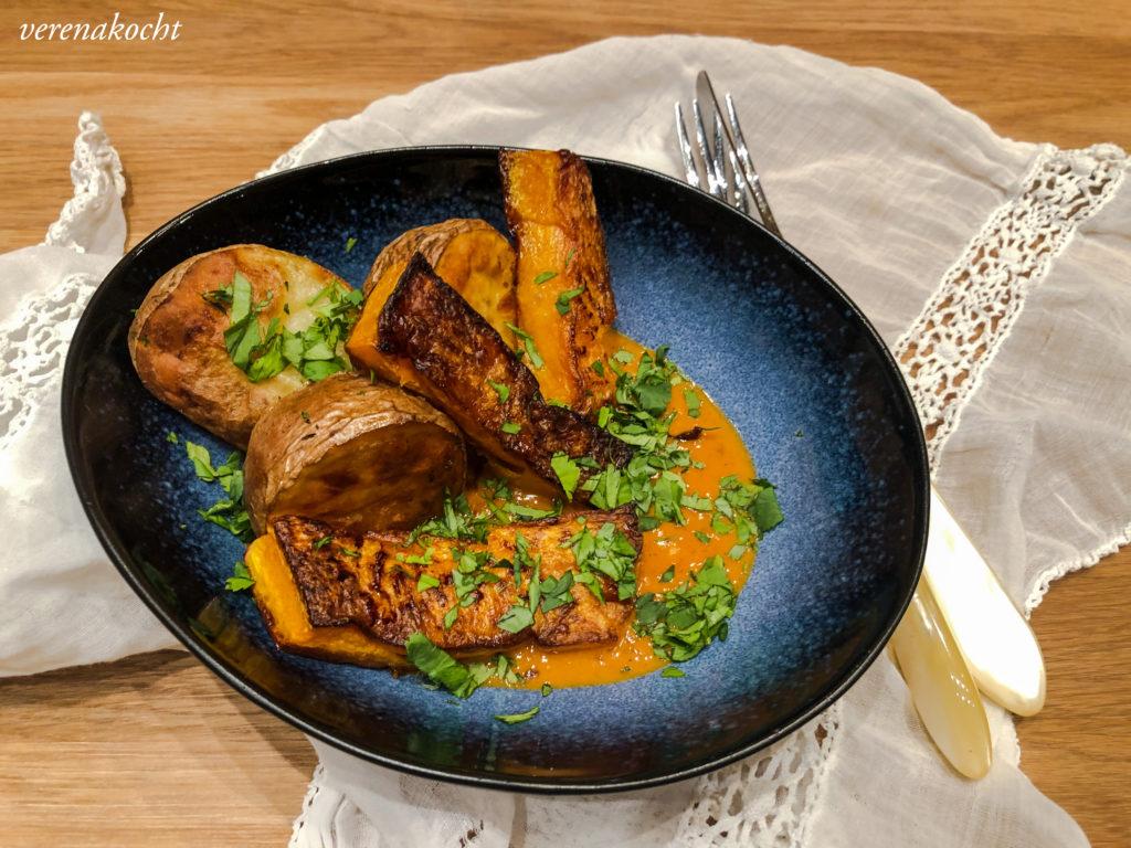 veganes Malai Kari mit Kürbis