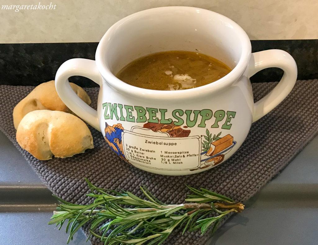 easy Zwiebelsuppe