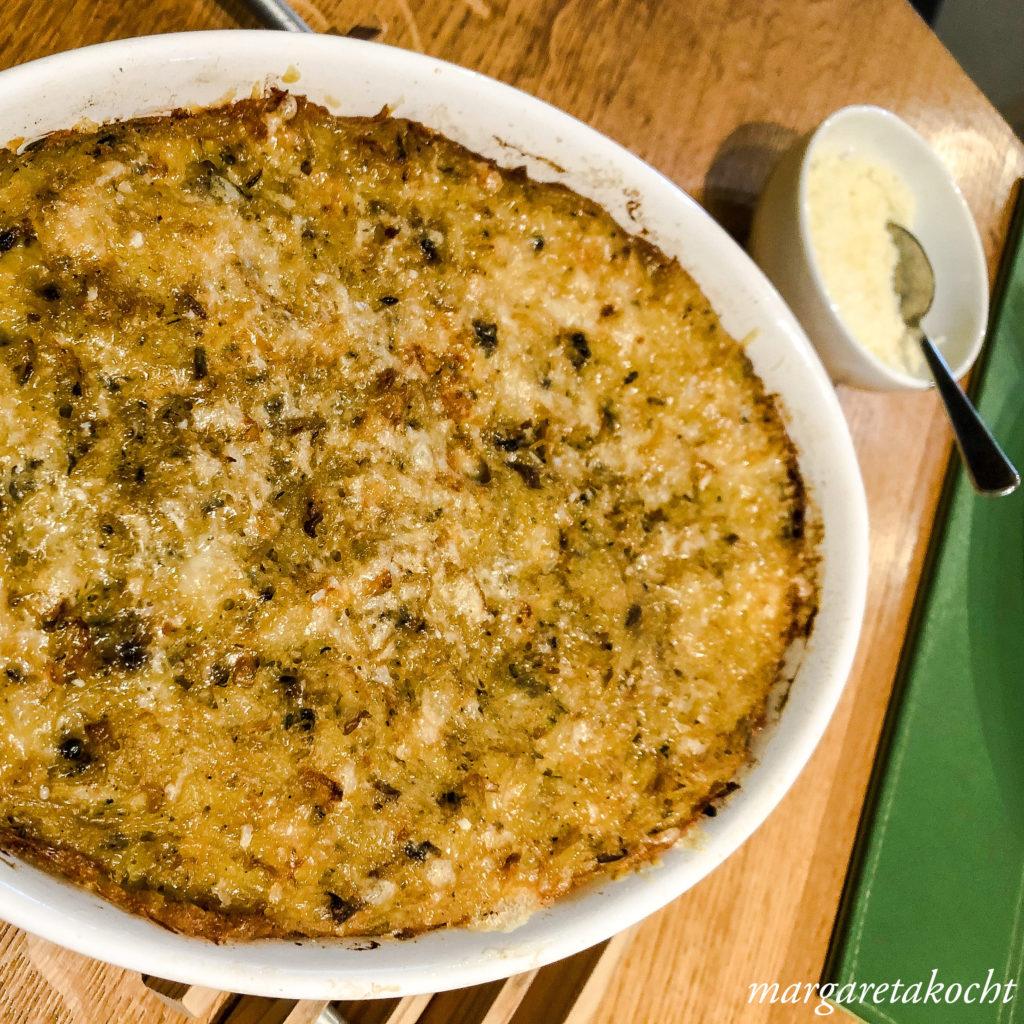 Zwiebel Kartoffel Auflauf